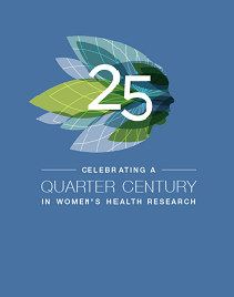 25th anniversary women's health research slideshow cover image