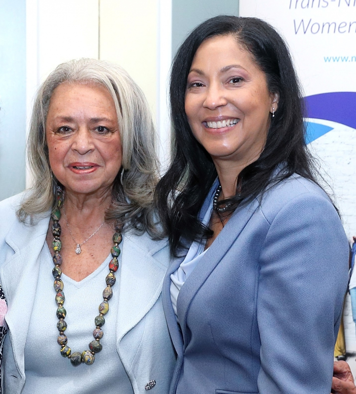 Image of Vivian W. Pinn, M.D., and Janine A. Clayton, M.D., FARVO, together.