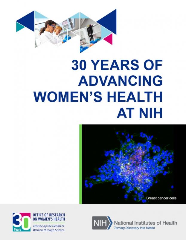 30 Years of Advancing Women's Health an NIH Slideshow