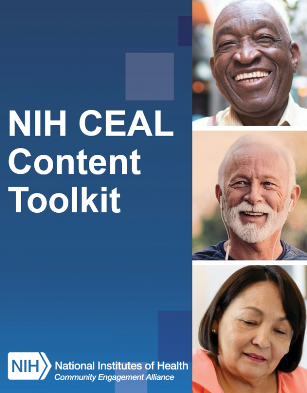 NIH CEAL Content Toolkit cover image.